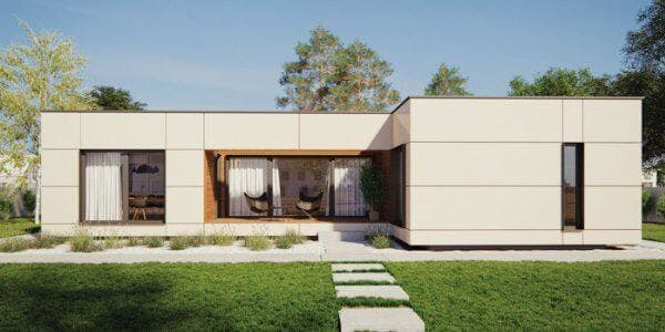 maison de constructeur contemporaine - plain pied