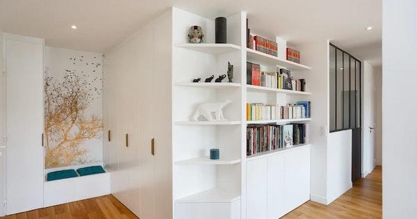 Rénovation appartement 129 m² - Sèvres