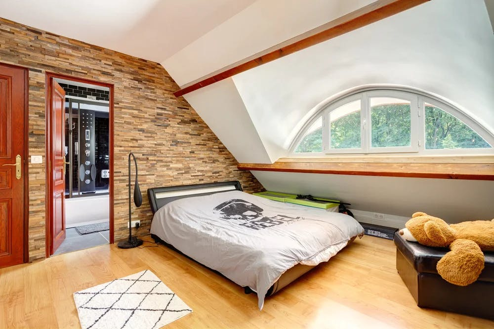 Rénovation d'une chambre à coucher à Chanteloup-en-Brie