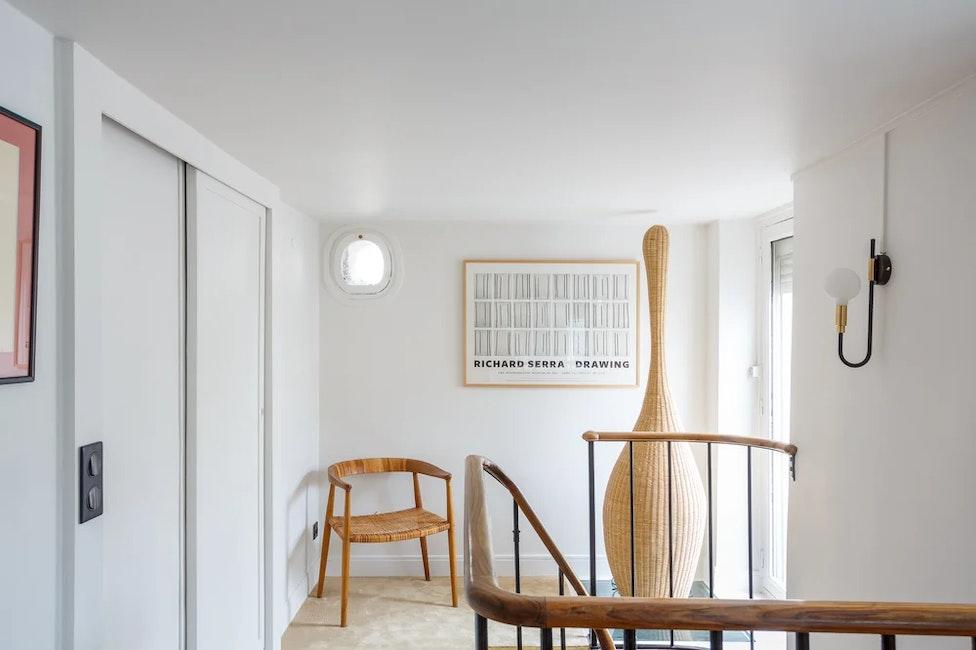 Vue premier étage d'un appartement de 65 m²