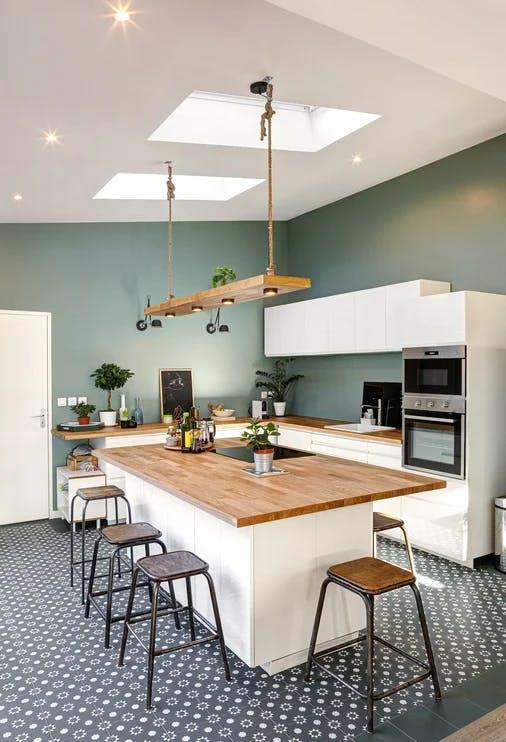 Cuisine - maison de 200 m² à Nanterre