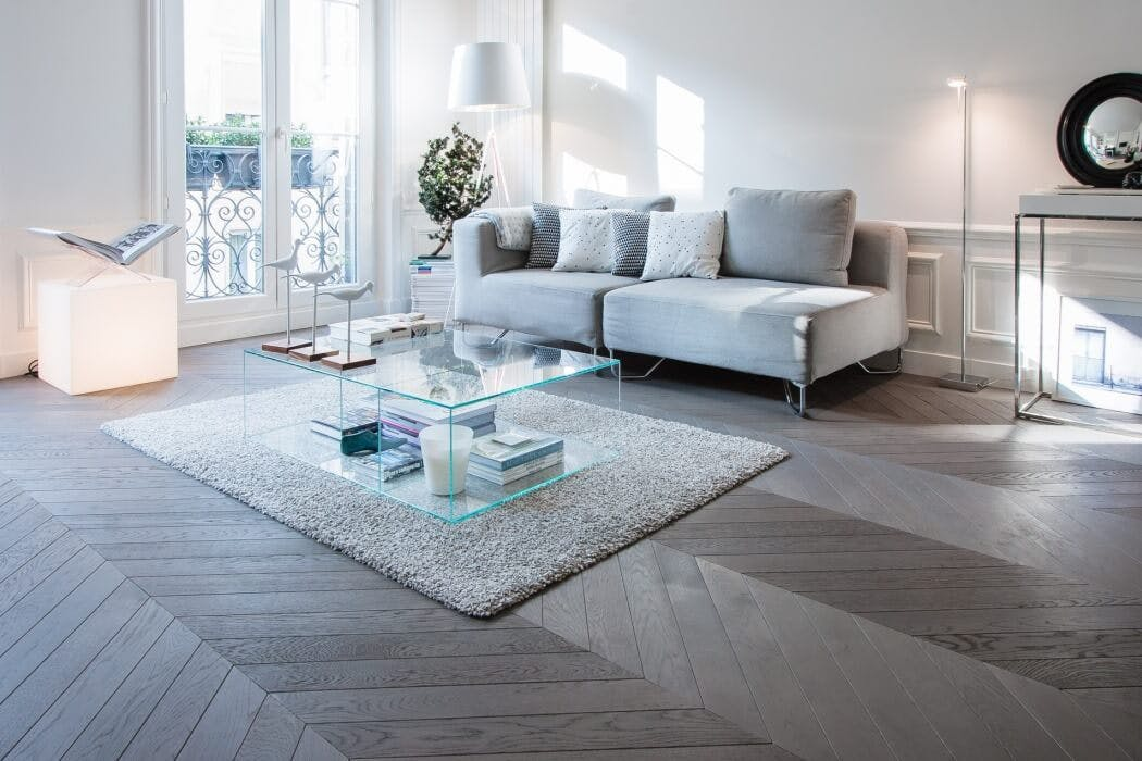 Pose parquet point de Hongrie