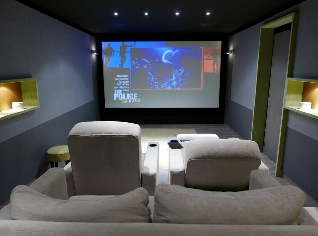 Aménager une salle de cinéma dans un sous-sol
