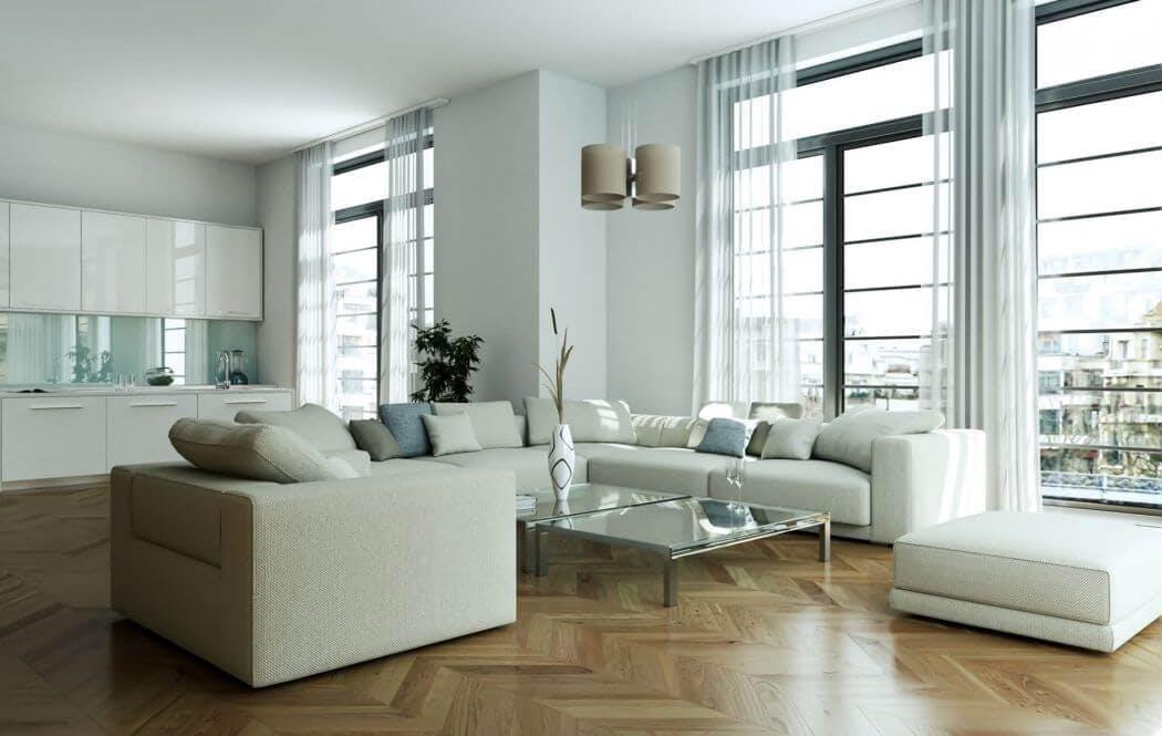 Appartement rénové dans un esprit moderne dans le centre de Paris