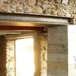 Mur porteur ouvert avec linteau IPN