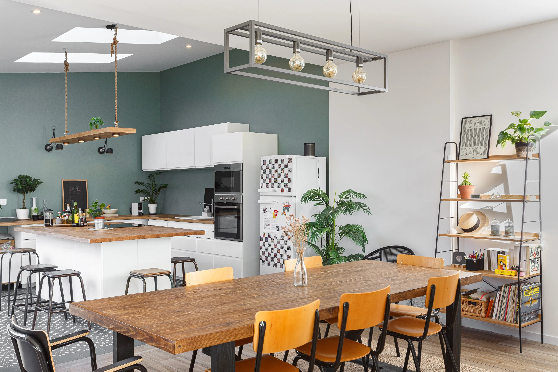 Rénovation d'un séjour & cuisine