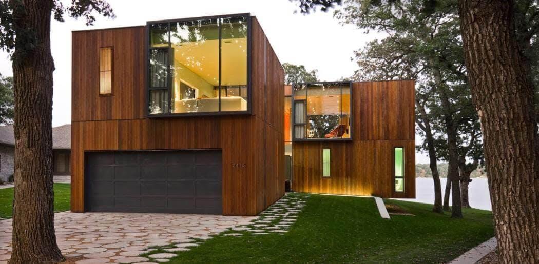 Maison a ossature bois