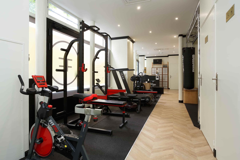 Salle de sport musculation, boxe et cardio