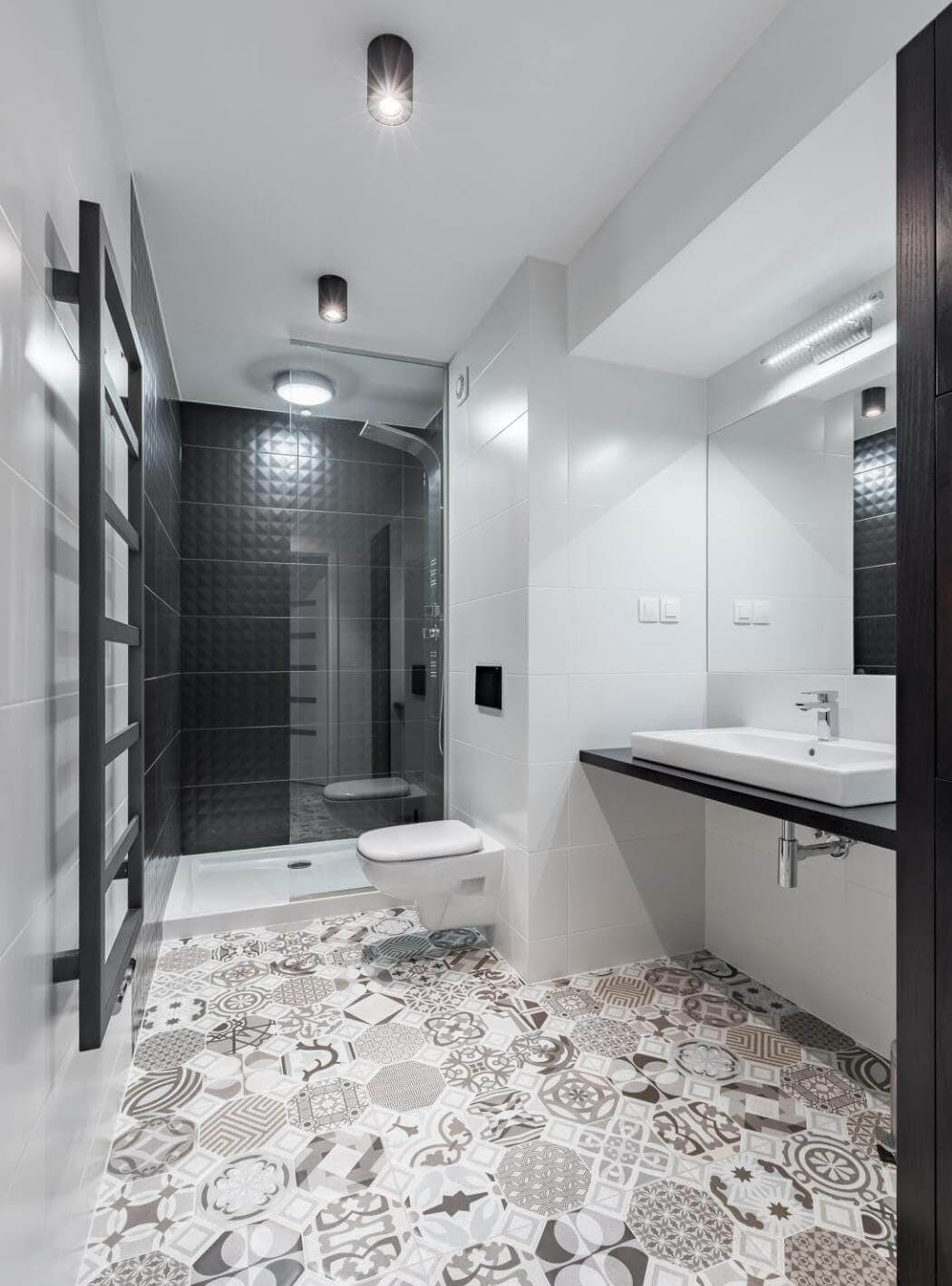 Intérieur d'un appartement rénové à Paris 14
