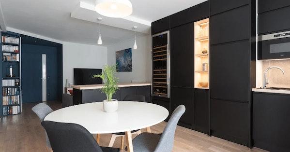 Rénovation appartement 49 m² - Paris 20