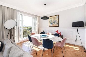 Rénovation haut de gamme d'un appartement de 140m² à Paris 7