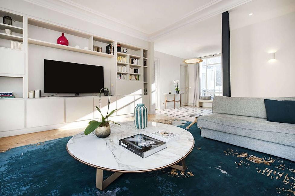 Renovation de luxe d'un appartement de 185 m² à Paris