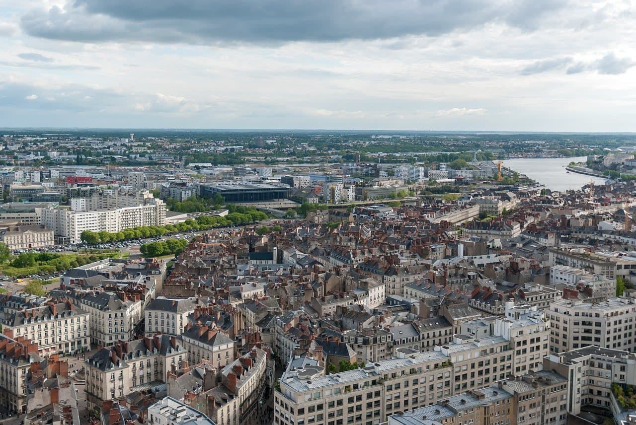 Paysage immobilier Nantes
