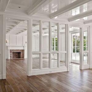 Verriere interieur en bois