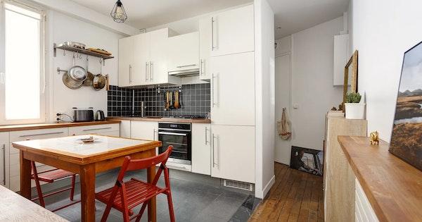 Rénovation appartement de 38 m² - Paris 18