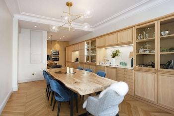 Rénovation de luxe d'un appartement de 185m² à Paris 16e