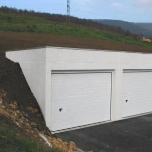 Construire un garage semi-enterré