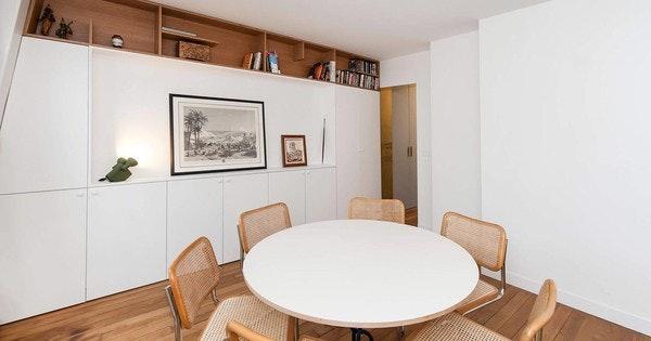 Rénovation d'appartement avec menuiseries sur-mesure