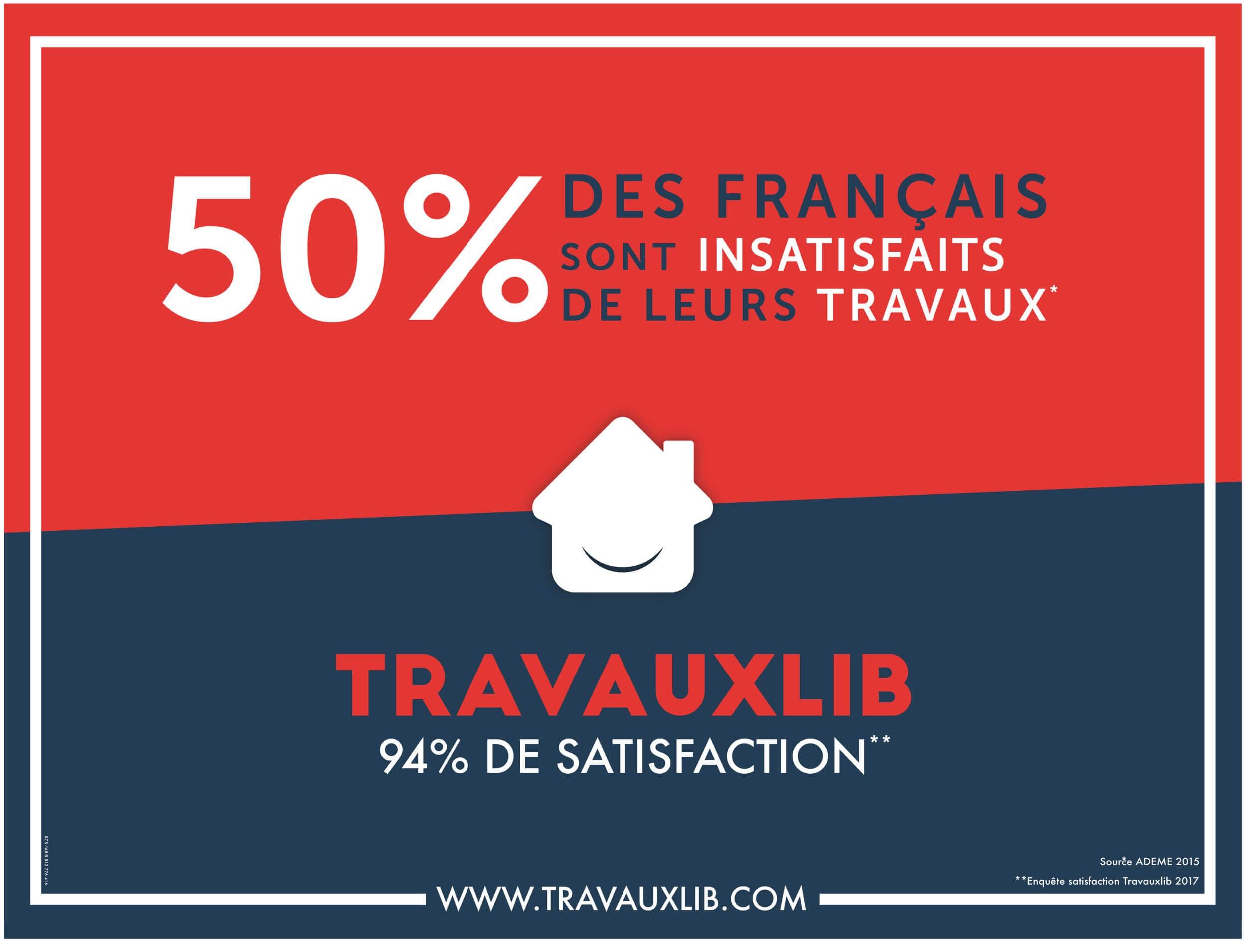 Pub Metro 50% des Francais sont insatisfaits de leurs travaux hemea