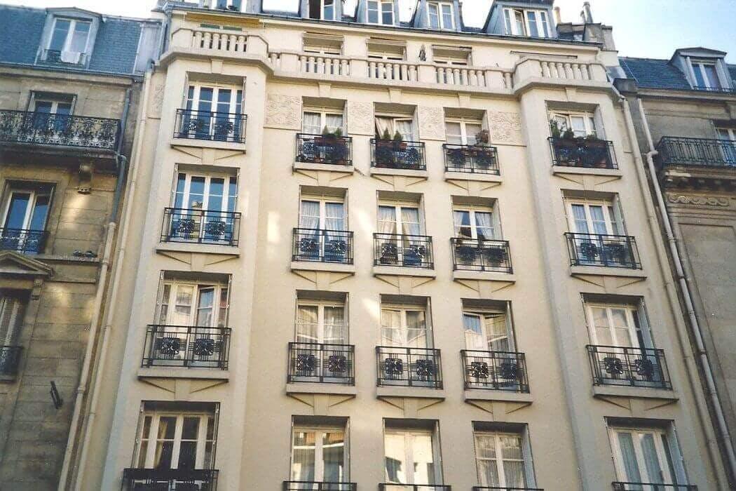 Immeuble des années 30 à Paris