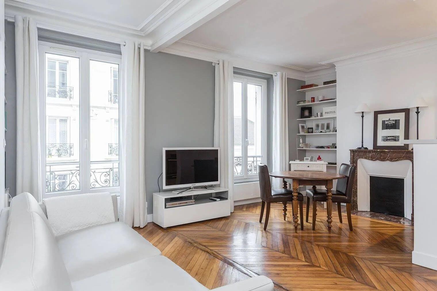 rénovation complète d'un appartement haussmannien à Paris