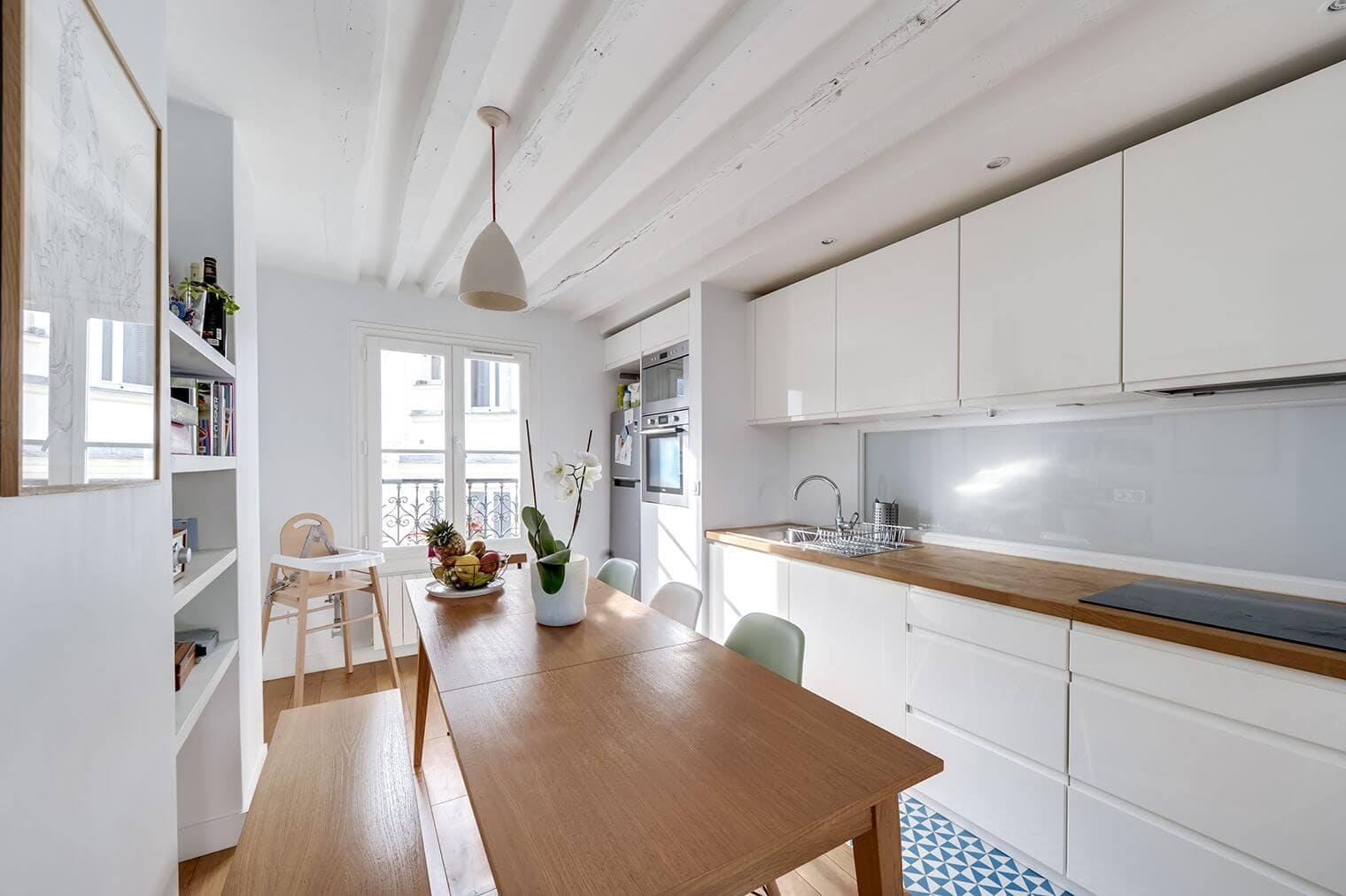 Aménagement d'un espace cuisine et salle à manger