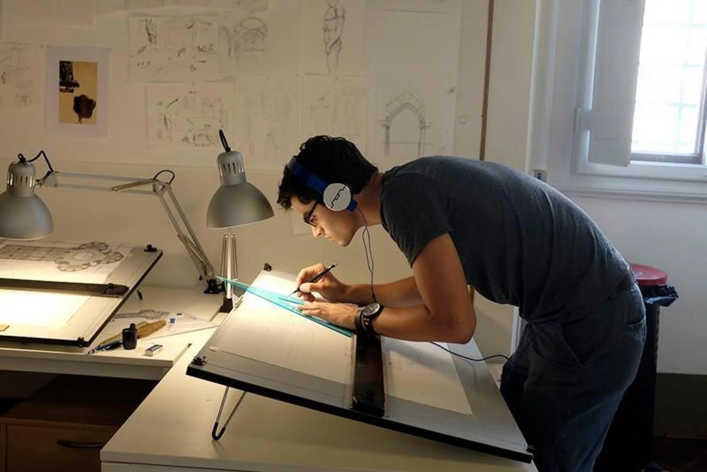 études architecture d'intérieur