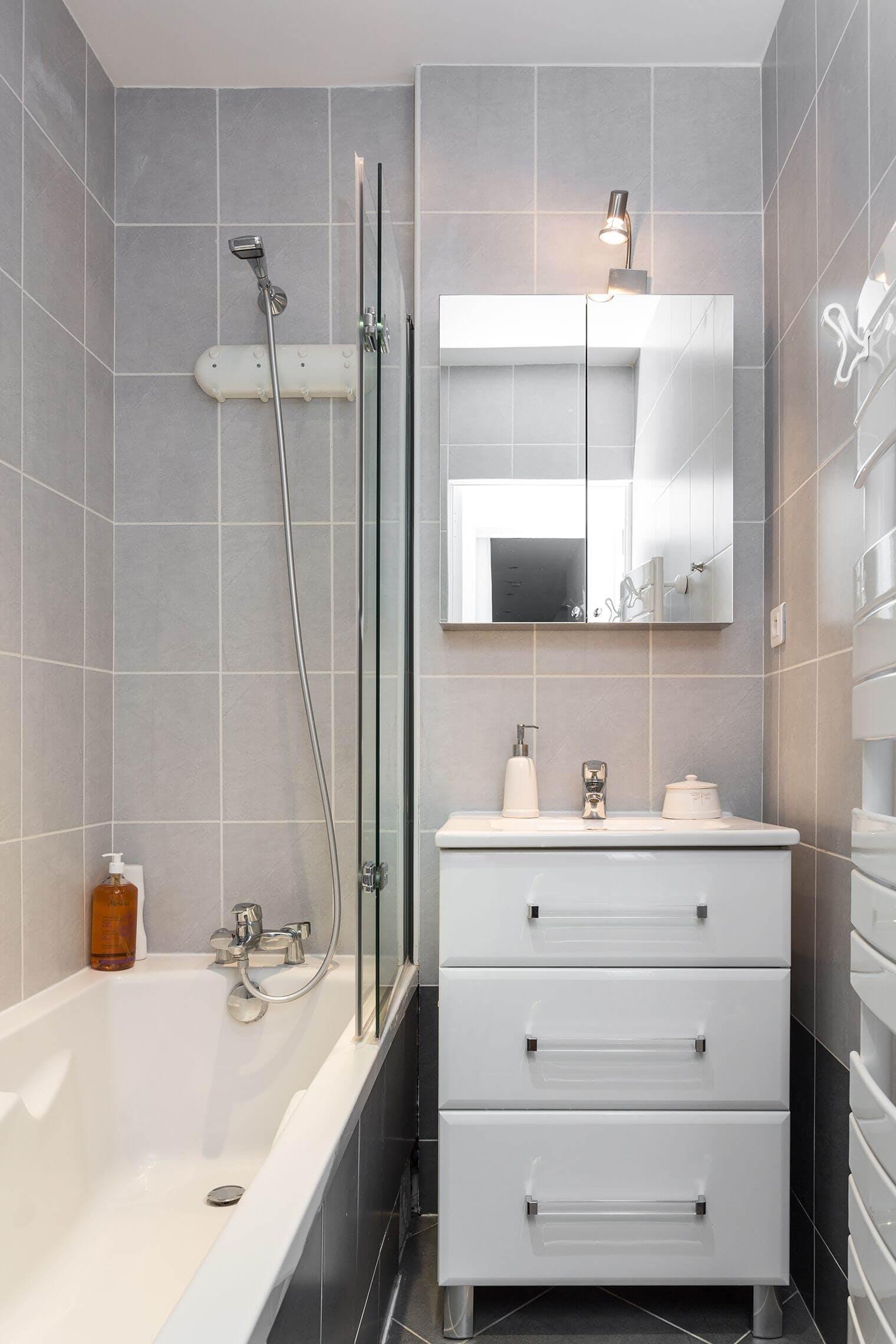 Renovation salle de bain dans appartement haussmannien