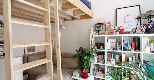 Rénovation studio de 18 m² - Paris 18