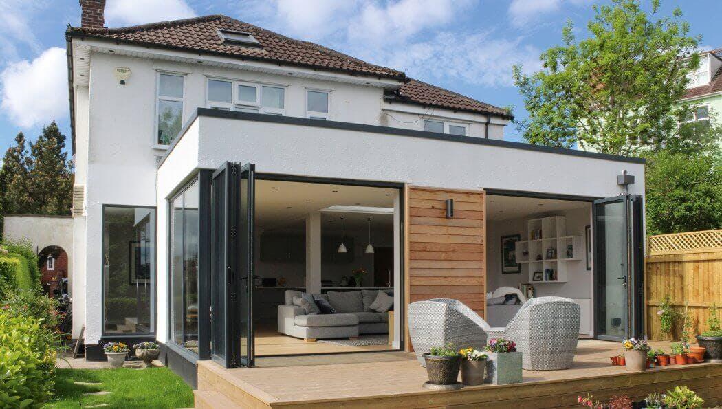 Quel prix pour une extension de maison latérale?