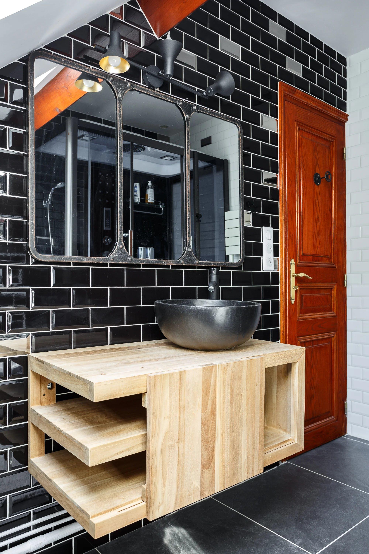 salle de bain modernisée