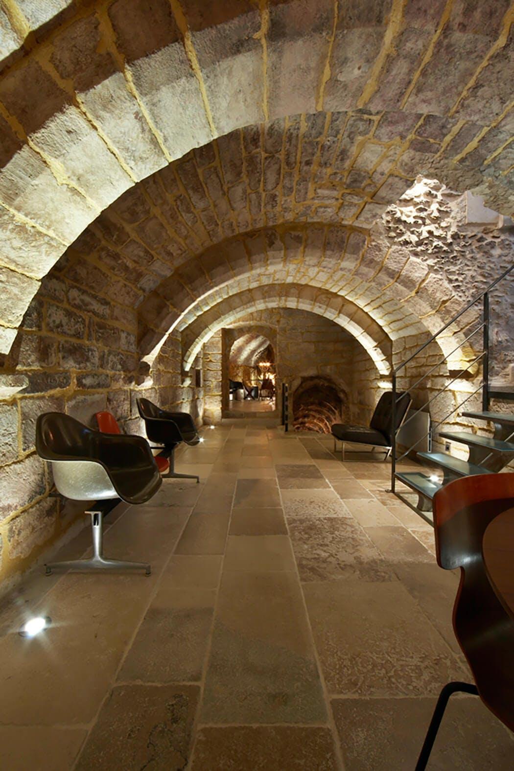 Rénovation de luxe du sous-sol et de son plafond voûté