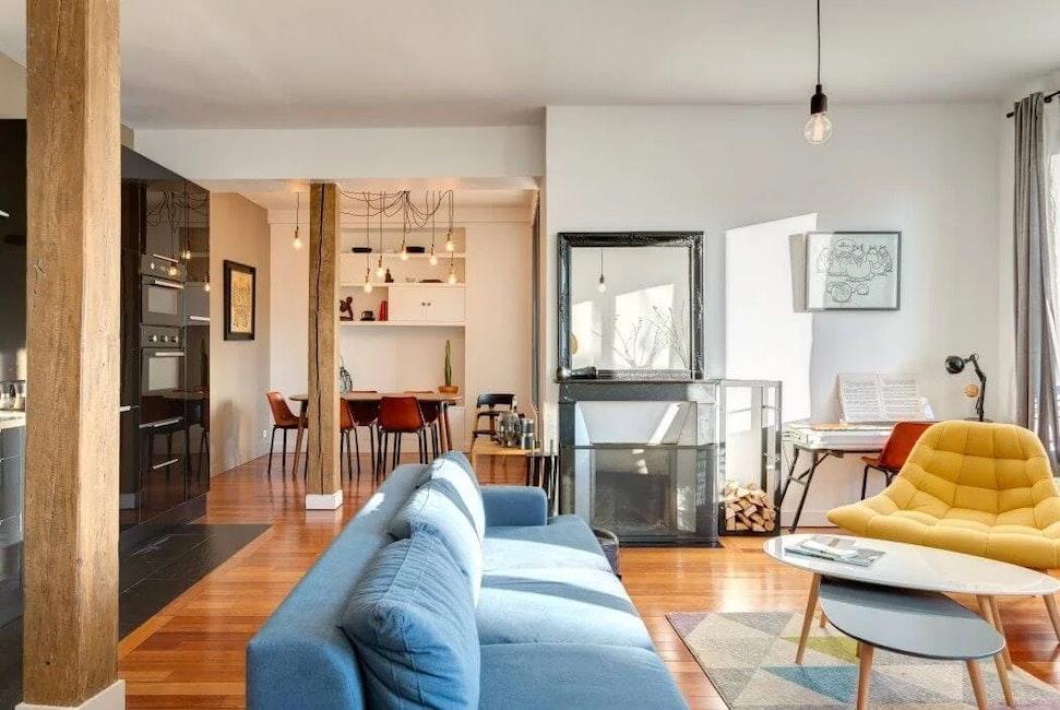 rénovation grand appartement à Paris 10