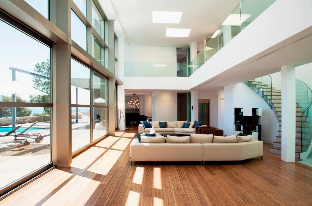 Orientation d'une maison passive