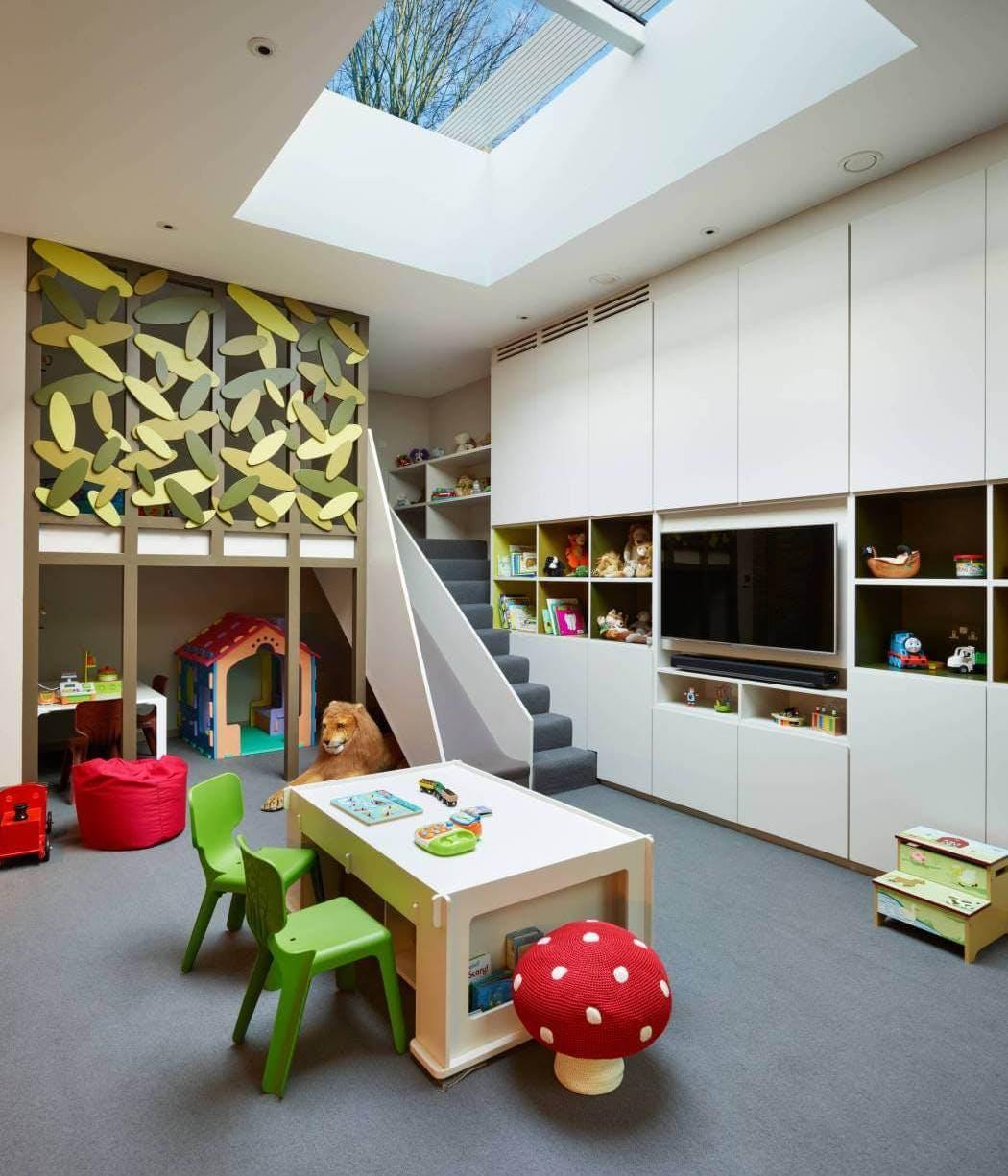 Réglementation d'un aménagement de sous-sol - Création d'une salle de jeux