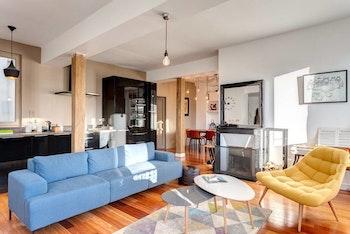 Rénovation d'appartement à Paris : peintures, verrière et salle de bain