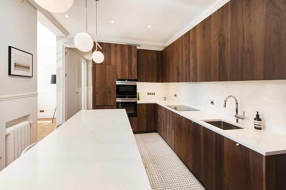 Rénovation haut de gamme d'un appartement de 140 m² à Paris