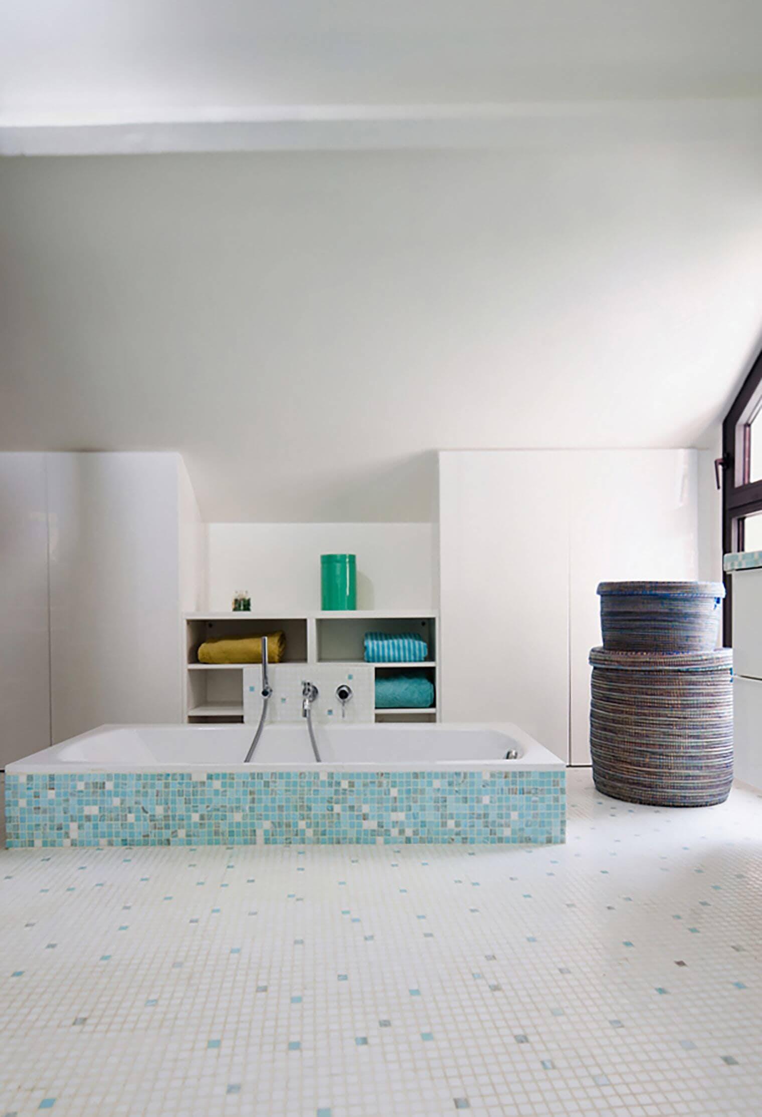 Rénovation de salle de bain dans une maison familiale