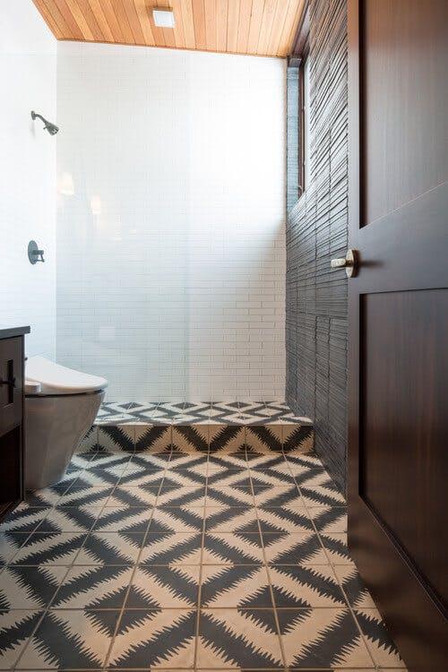 4. Renovation de votre salle de bain : revêtement au sol