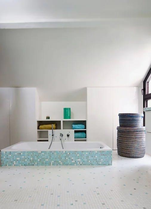 Rénovation salle de bain avec baignoire