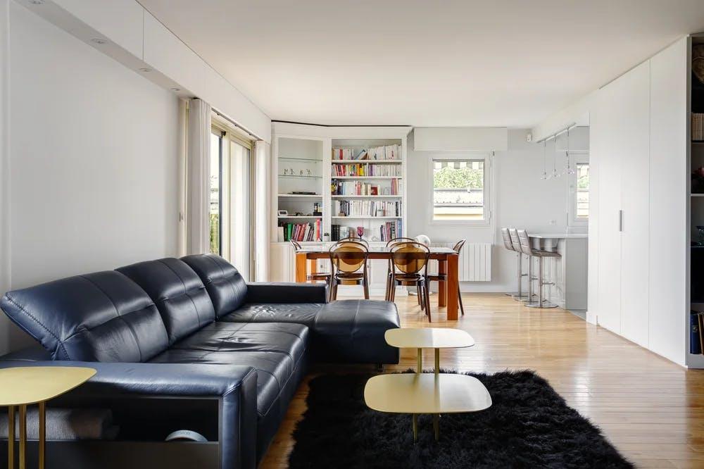 Rénovation de séjour - Appartement de 123 m² 2
