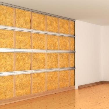 Isolation phonique mur et cloison
