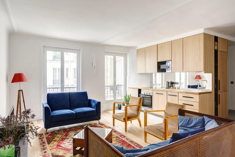 rénovation appartement - séjour & cuisine