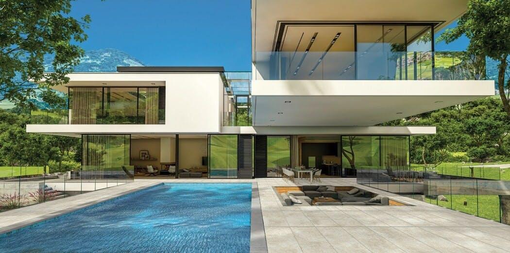 Forme d'une maison passive