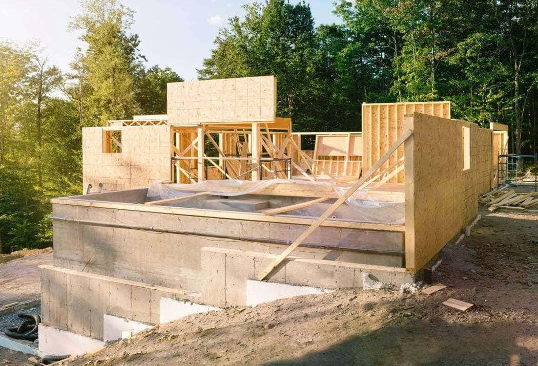 Travaux de gros œuvre via une entreprise de construction