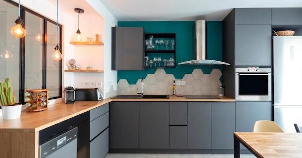 Rénovation cuisine haut de gamme 10 m²
