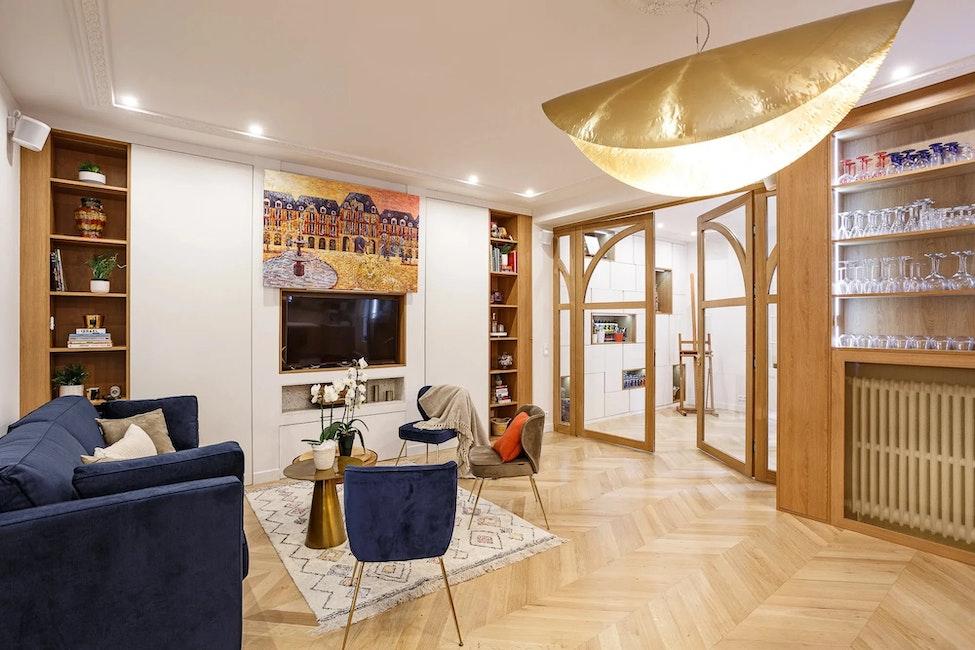 Rénovation d'un appartement de 115 m²