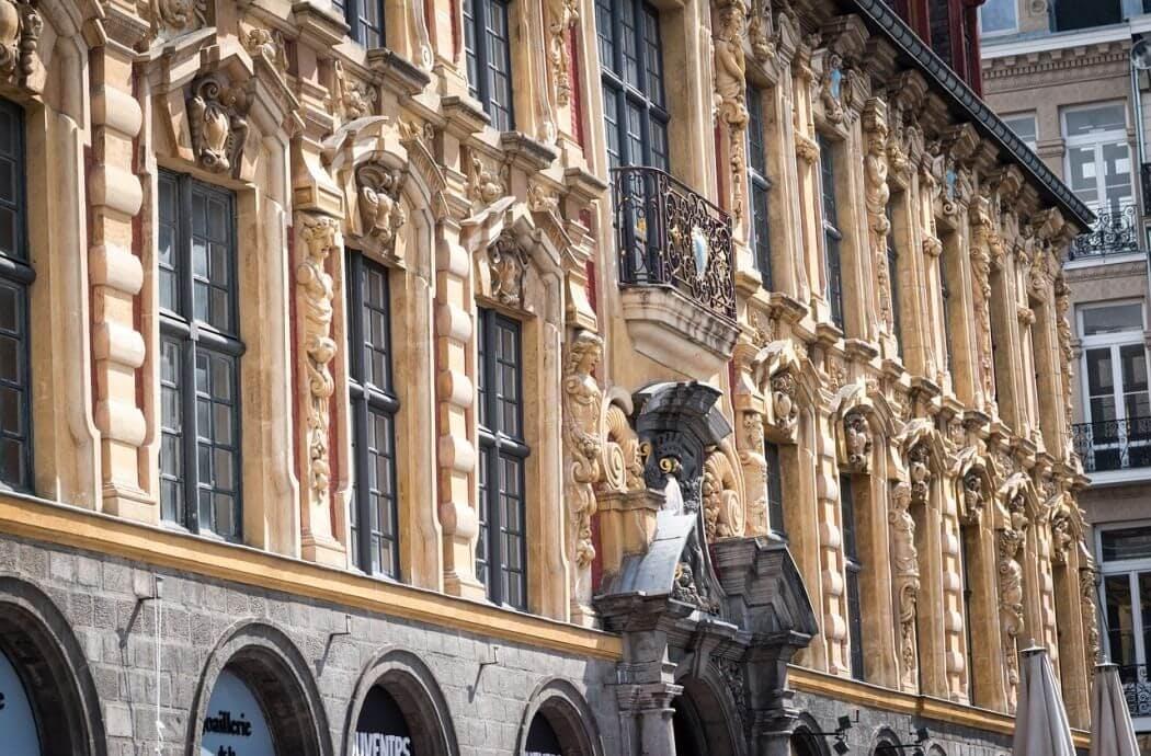 Architecte du Patrimoine - Vieille Bourse, Lille