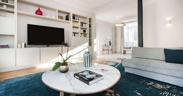 Rénovation de luxe d'un appartement de 185 m²