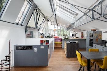 Rénovation d'un loft parisien de 135m²